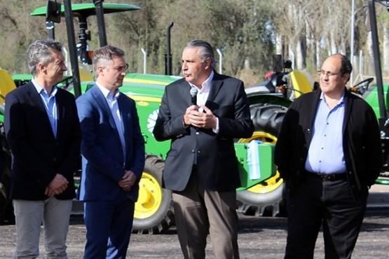 Nuevas maquinarias para productores cooperativos