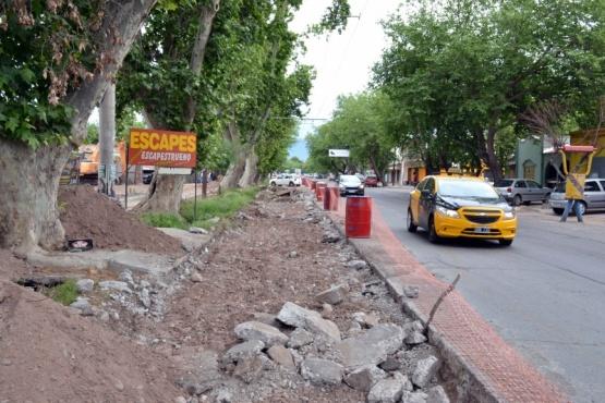 Nuevos cambios prevé la remodelación del carril Godoy Cruz