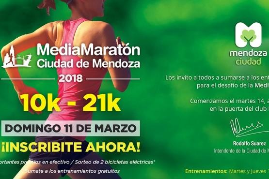 Acercate al Club Hípico y entrená para la Media Maratón