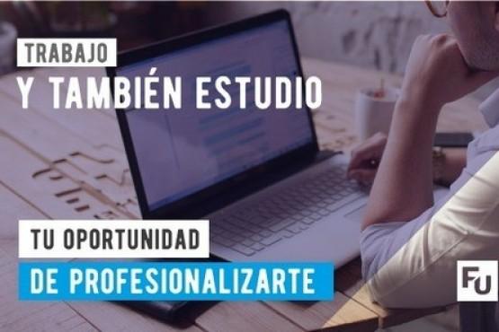 Estudiá y trabajá con modalidad online