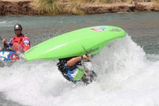 Luján presente en el Mundial de Kayak