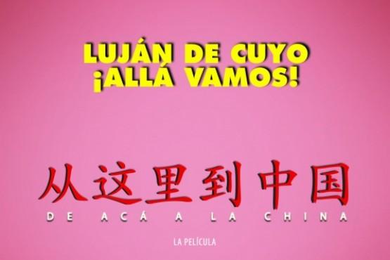 """""""De acá a la China"""" en la Escuela Municipal de Arte."""