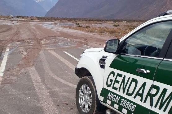 Paso a Chile habilitado con precaución luego del alud