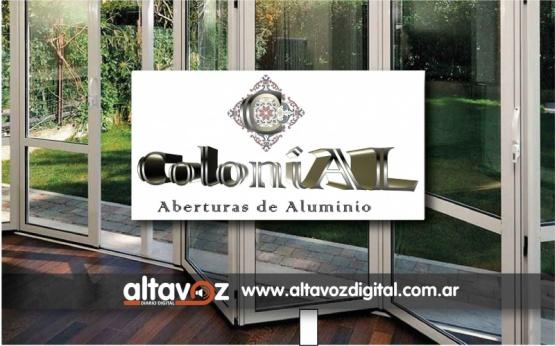 COLONIAL ABERTURAS DE ALUMINIO