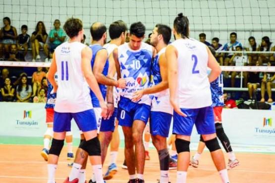 Tunuyán no pudo clasificar en la Liga de vóleibol