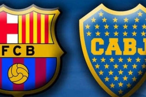 Boca jugará contra el Barcelona