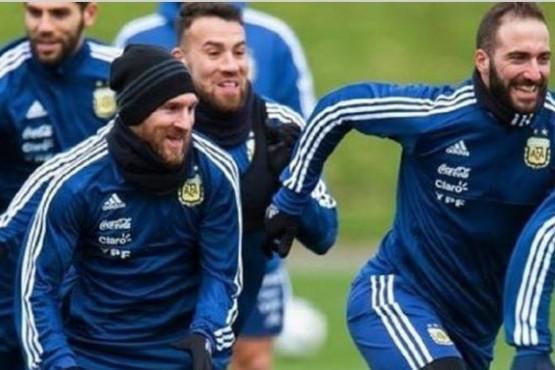 Camino a Rusia con Messi en duda