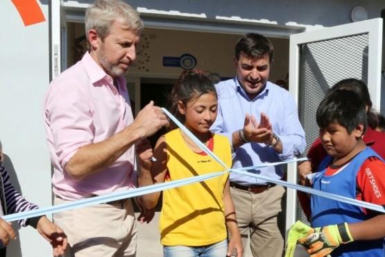 Se inauguraron nuevas obras de hábitat en Ugarteche