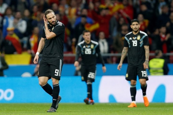 Papelón de Argentina en España