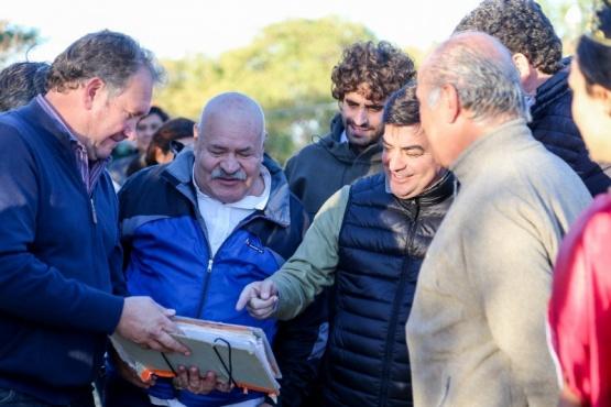 Nueva red de agua potable en El Carrizal