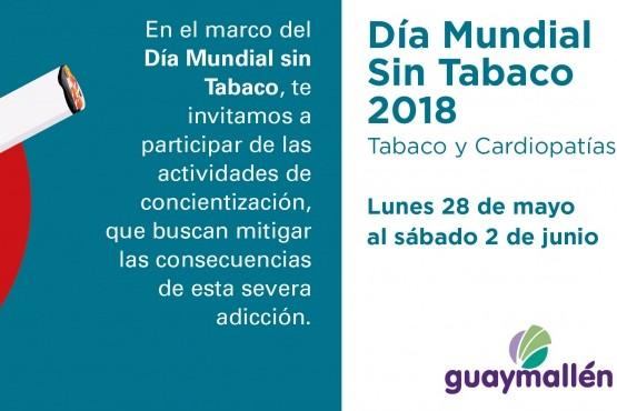 Guaymallén se suma al Día Mundial sin Tabaco
