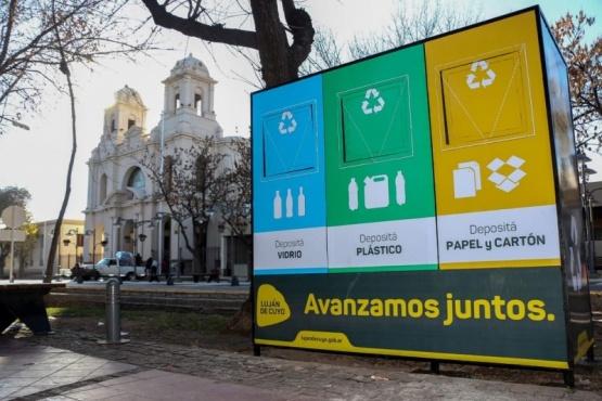 Puntos Limpios para residuos reciclables