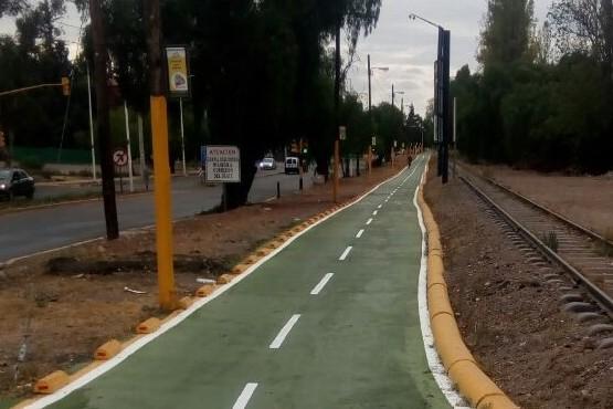 Nuevo tramo de ciclovía