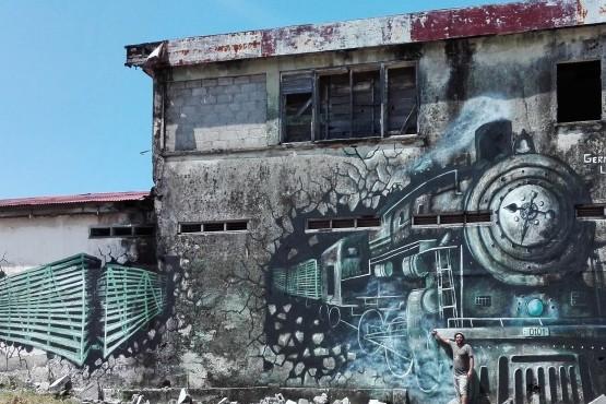 1º Encuentro de Muralismo Colectivo y Comunitario en Honduras.
