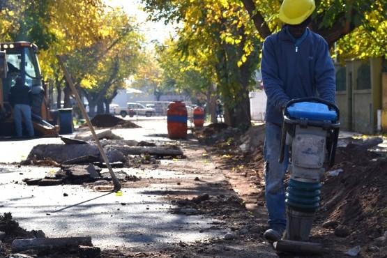 La calle Cabildo contará con drenajes impermeabilizados