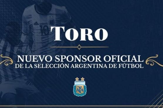 Toro, el vino líder de los argentinos nuevo Sponsor de la Selección