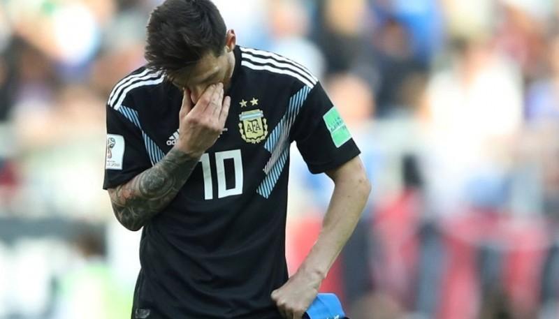 Pobre debut de Argentina en Rusia