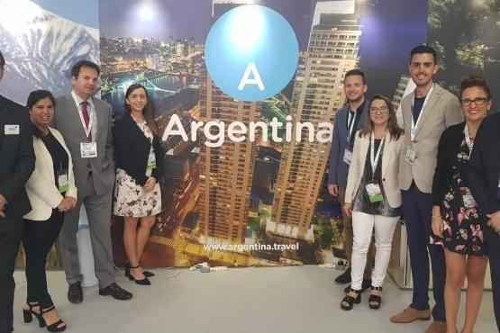 Mendoza participó en Londres de una feria de turismo de reuniones