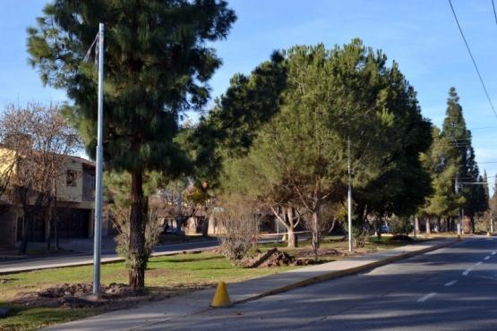 El Boulevard Dorrego tendrá iluminación LED