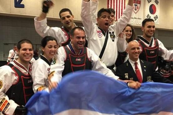 Campeones argentinos en EE.UU.