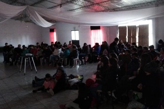 El Cine Móvil, de gira por San Rafael