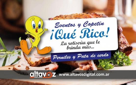 ¡QUE RICO!