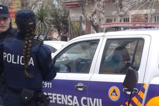 Fuga de gas en escuela José M. Estrada de Guaymallén
