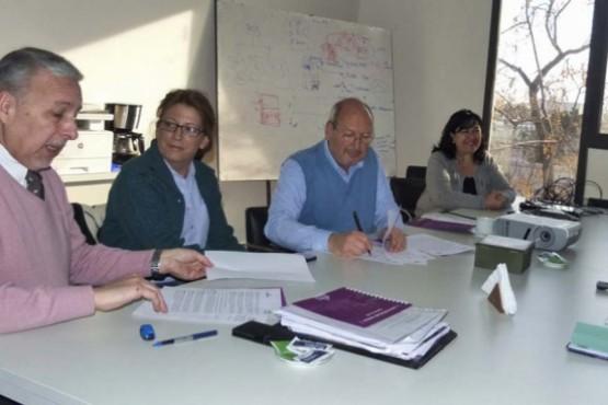 Acordamos acciones conjuntas con la Universidad Juan Agustín Maza