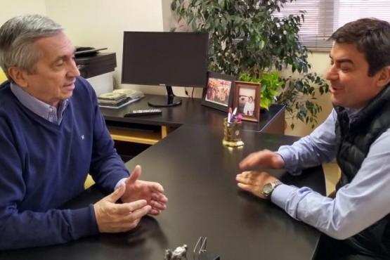 Omar De Marchi se reunió con el Diputado Guillermo Pereyra