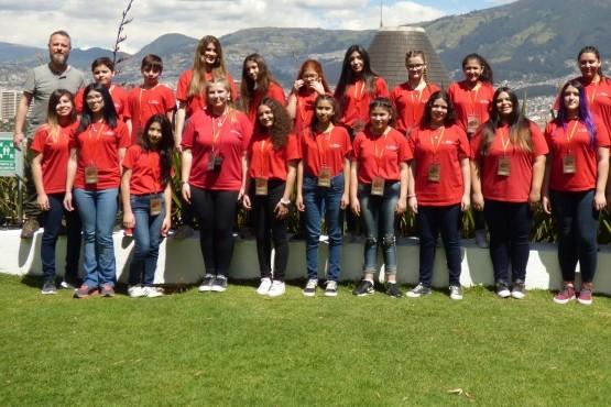 El talento del Coro de Niños de Guaymallén traspasó fronteras en Ecuador