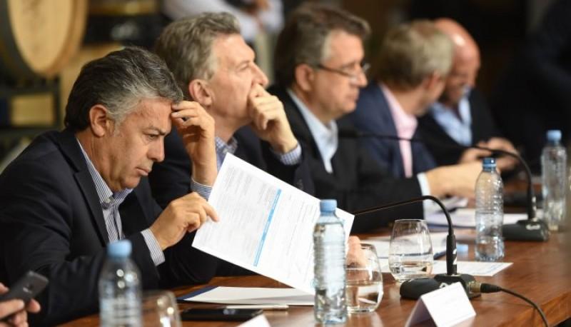 El Presidente Mauricio Macri participó de la Mesa de Competitividad Vitivinícola