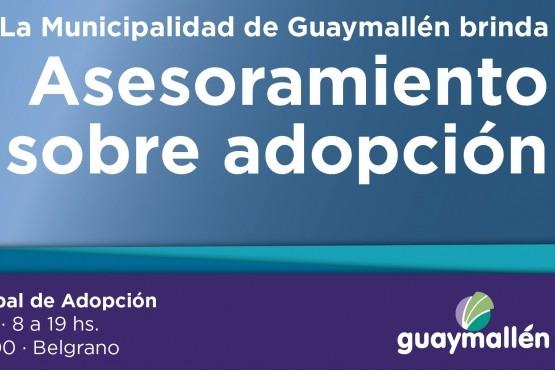 El Espacio Municipal de Adopción de Guaymallén brinda asesoramiento a la comunidad