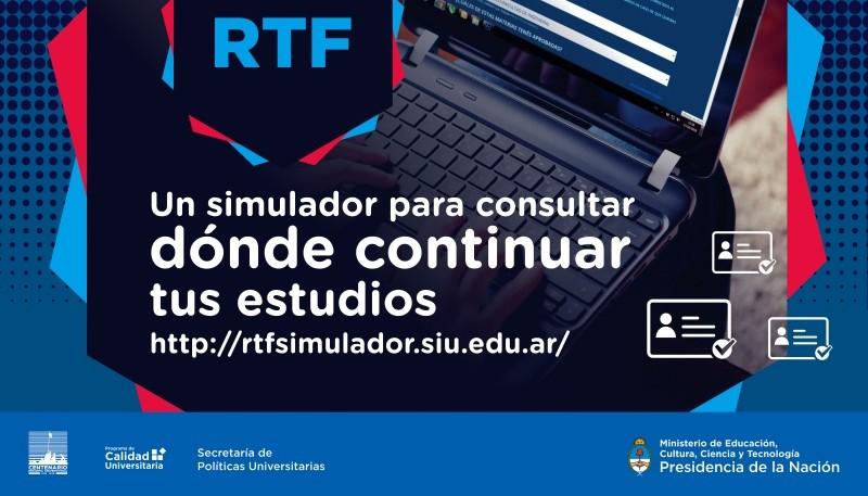 Un simulador para consultar dónde continuar tus estudios