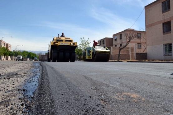 Fin de la recuperación vial en dos barrios del distrito Belgrano