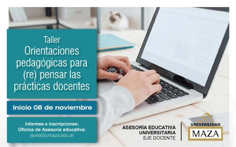Taller: Orientaciones pedagógicas para (re) pensar las prácticas docentes