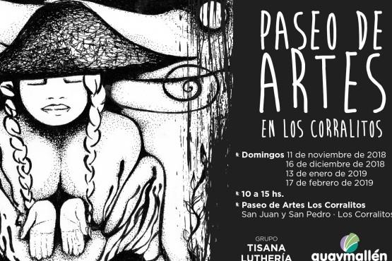 Un domingo al mes Los Corralitos contará con un Paseo de Artes
