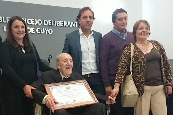 Se declaró vecino ilustre al Dr. José Enrique Marianetti