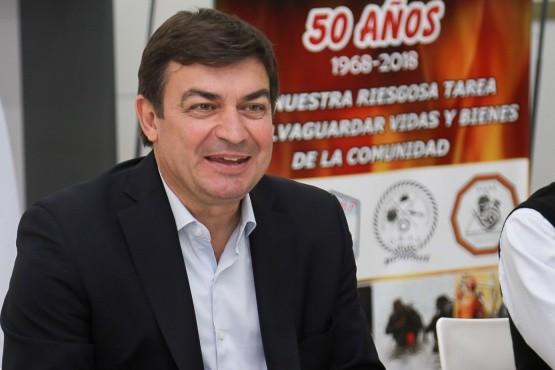 Omar De Marchi presentó el Plan Integral de Gestión de Riesgo