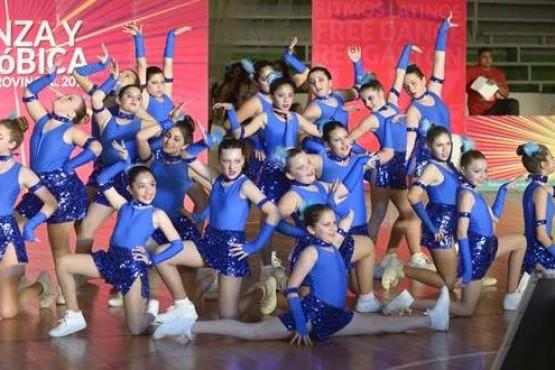 Ganadores del Torneo Provincial de Danza y Aeróbica