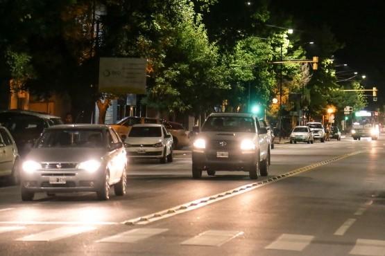 De Marchi inició el Plan de Luminarias LED