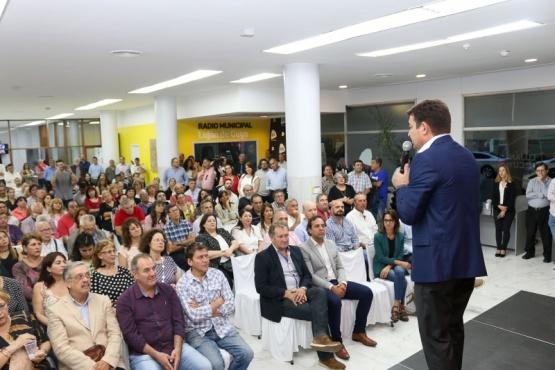 De Marchi presentó el Plan Municipal de Ordenamiento Territorial
