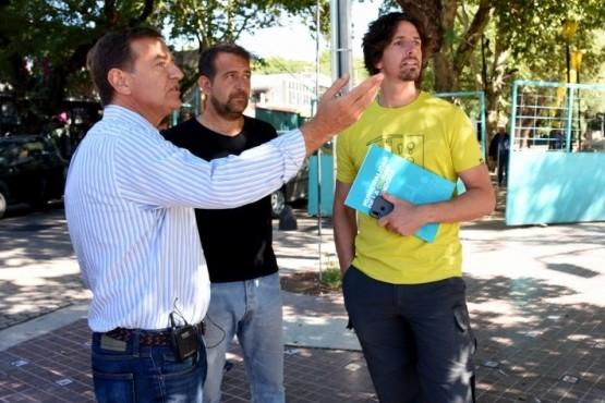 Obras en la Ciudad de Mendoza