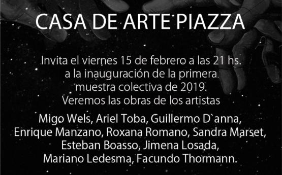 CASA DE ARTE PIAZZA INVITA...