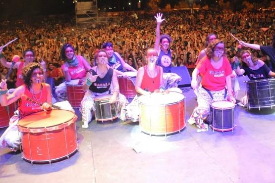 Una multitudinaria convocatoria para celebrar Carnaval