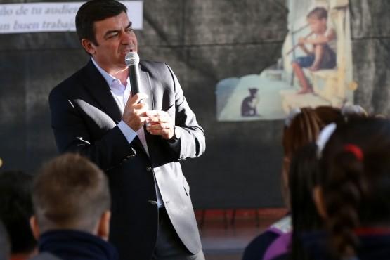 De Marchi dio inicio al ciclo lectivo en Luján de Cuyo