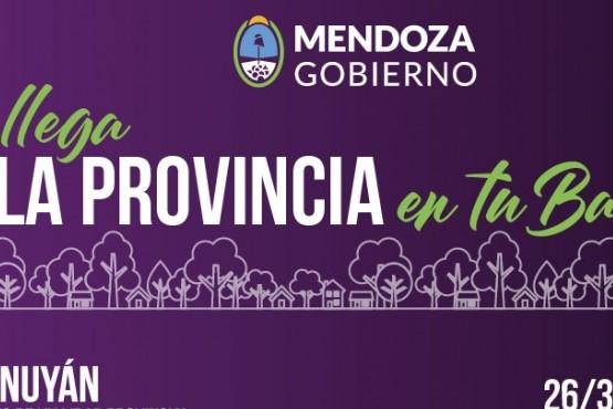 La Provincia en tu Barrio estará en Tunuyán