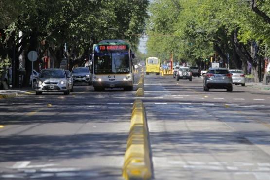 Más líneas circularán por el carril exclusivo de calle San Martín