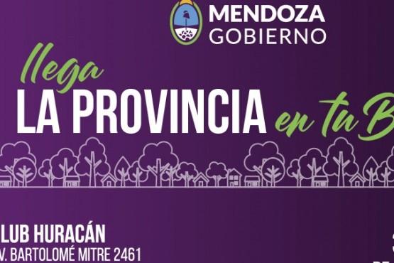 Del 3 al 5 de abril, La Provincia en tu Barrio vuelve a San Rafael