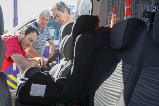 Uso de sistemas de retención infantil en autos