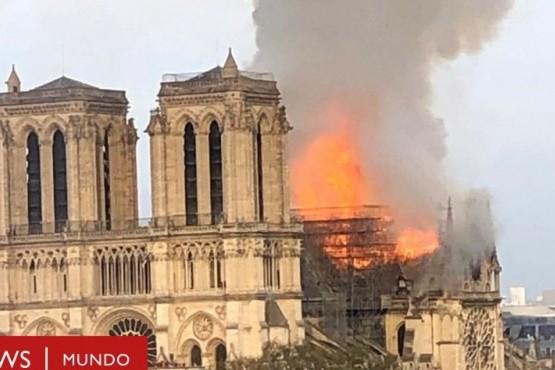La imagen viral de Notre-Dame que recorre el mundo